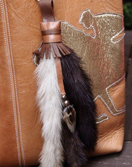 Fur & Feather Bag Charm