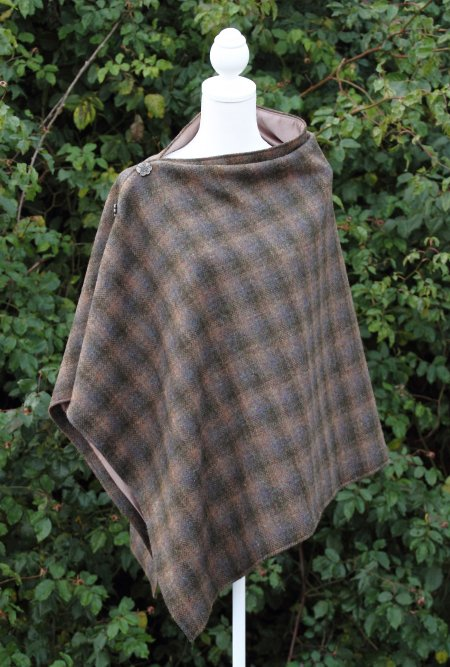 Harris Tweed Oakwood Cape