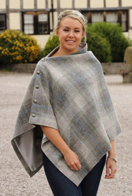Harris Tweed Silver Cape